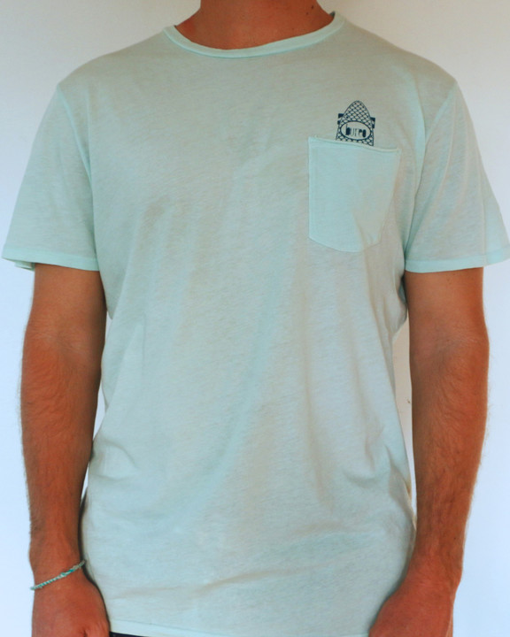 Tees - Bureo Skateboards Bureo Pocket Board T-Shirt