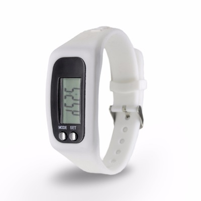 Rubberchic Reloj Digital Con Podometro Rubberchic Younger Blanco
