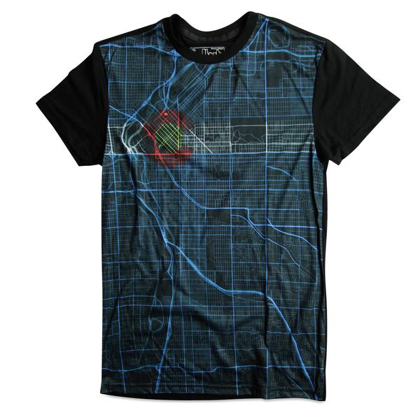 Tees - Kind Design Denver Roadmap T-Shirt