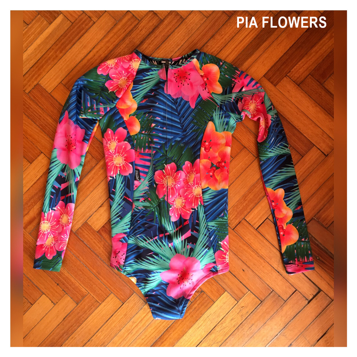 Enteros - Wildass Surf Suit Pia Flowers