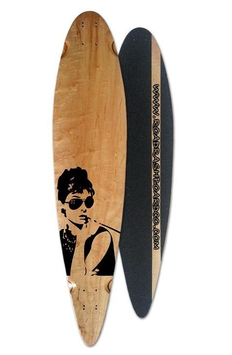Boards - Roadrash Board Co Classic Pintail - Audrey
