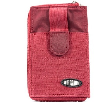 Billeteras - Big Skinny Billetera Cell Sports Red