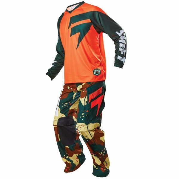 Pantalones - Fox Head Equipo Enduro Shift  Recon Camo- M/32- #15767031