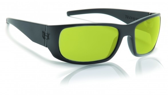 Sunglasses - Hoven Vision MATCH Black on Black / Yellow