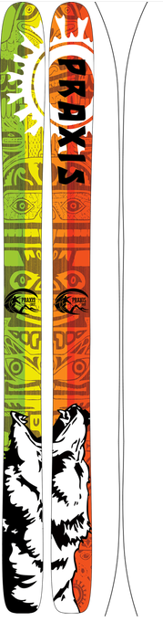 More - Praxis Skis Concept - Big Mountain Series (2015)