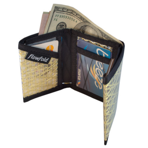 Wallets - Flowfold Traveler Trifold Wallet