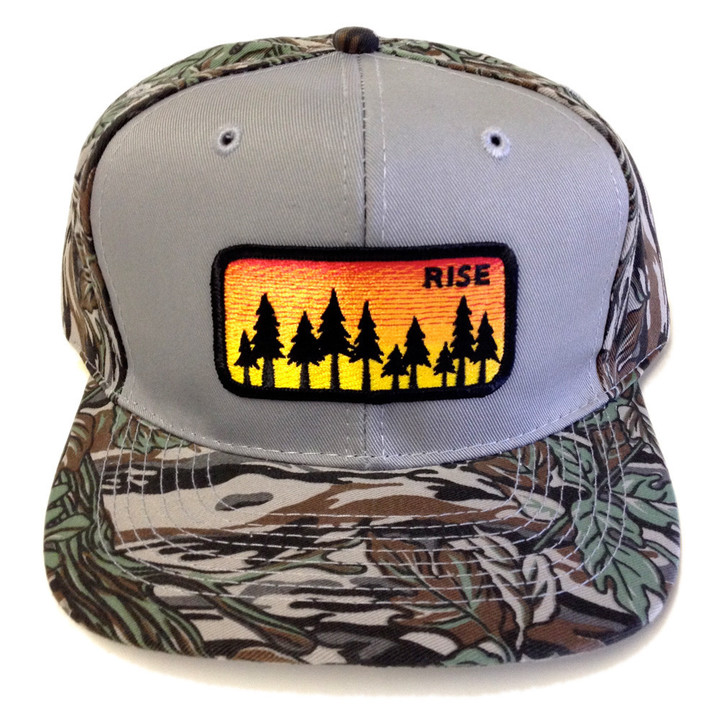 Ball Caps & Snapbacks - Rise Designs Sunrise Snapback Hat - Tree Camo