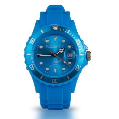 Relojes - Rubberchic Reloj Basic Sky Blue - 40mm