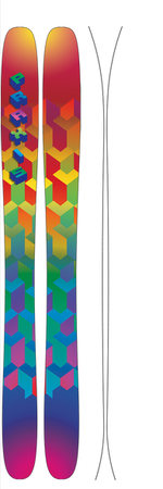 All Mountain - Praxis Skis Le Petit - All Mountain Series (2015)