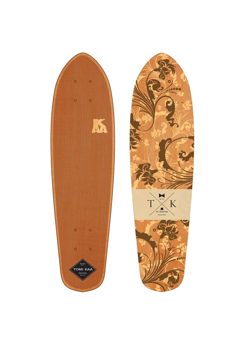 Tablas - Tomi Kaa Deck Cruiser Blazer Flower