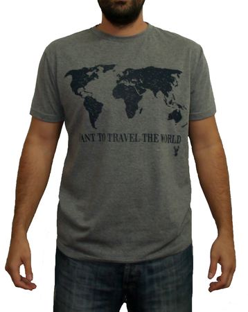 Mangas Cortas - Blueridge Remera World