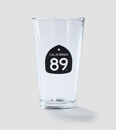 More - California 89 Beer Pint Glass