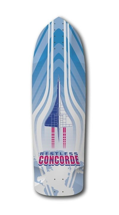 Boards - Restless Longboards Concorde Deck Longboard - Deck only