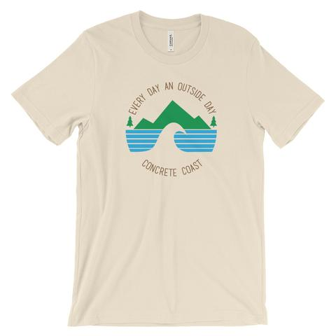 Clothing - Concrete Coast Every Day Tee - Light Colors