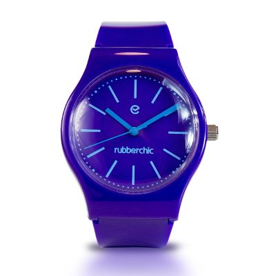 Relojes - Rubberchic Reloj Nice Dark Purple