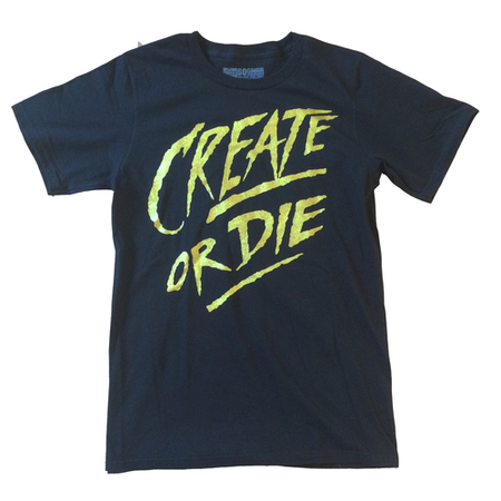 Tees - So-Gnar Create or Die T-Shirt
