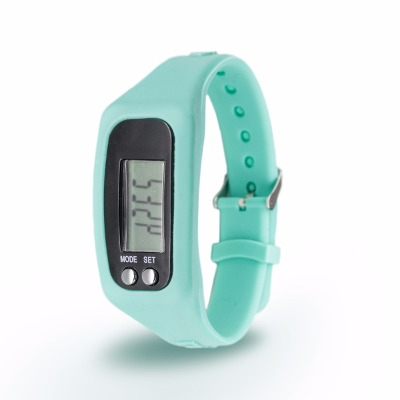Rubberchic Reloj Digital Con Podometro Rubberchic Younger Verde Soft