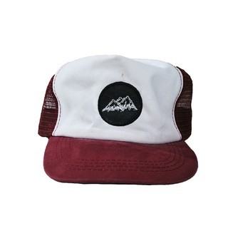 Truckers - Chilling Company Gorra Trucker Low Bordo Monte