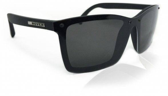 Sunglasses - Hoven Vision BIXBY Black Matte / Grey Polarized