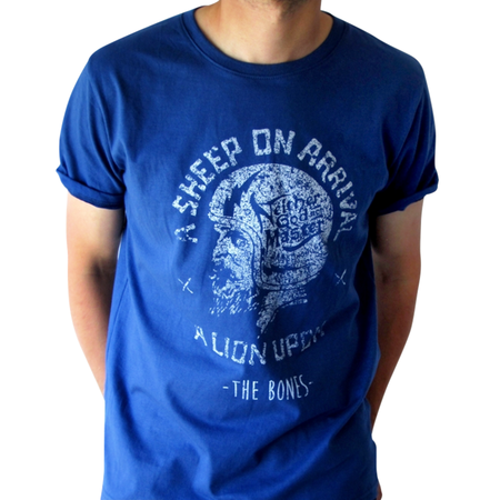 Mangas Cortas - The Bones  Remera Helmet