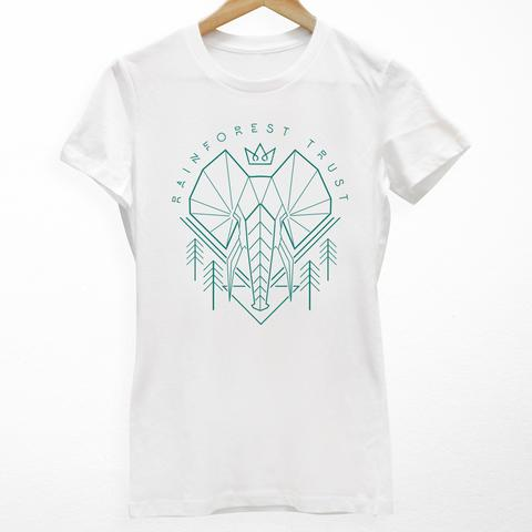Tees - Cuipo Rainforest Trust Elephant Womens