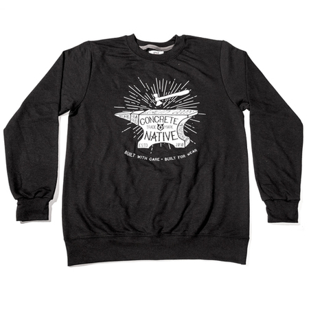 Crew Necks - Concrete Native Skyforge Crewneck Sweatshirt