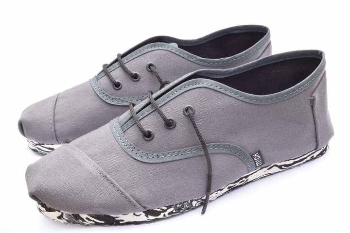 Náuticos - Mich Shoes Mich Acordonada Dark Grey