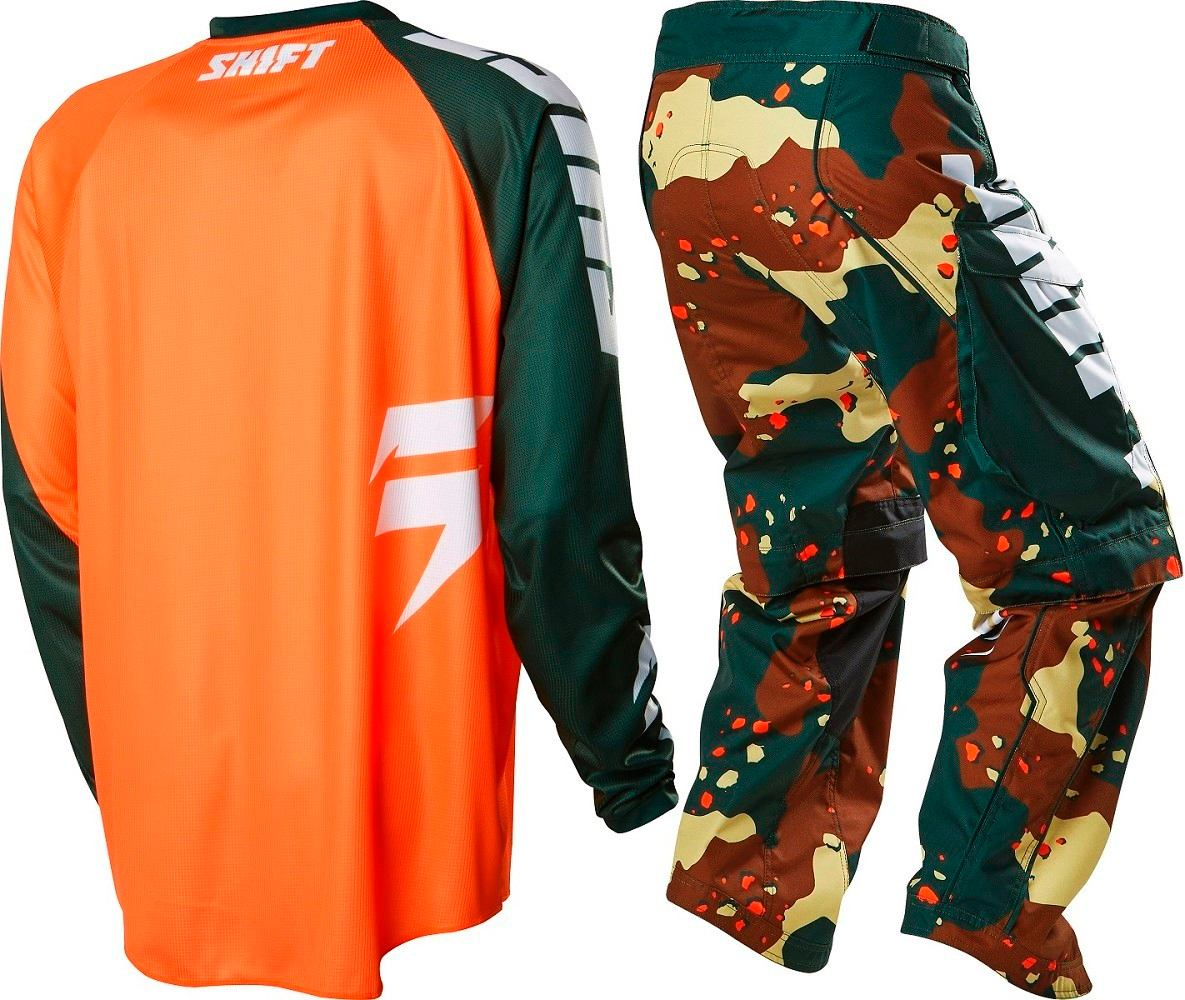 Fox Head Equipo Enduro Shift  Recon Camo- Xl/36- #15767031