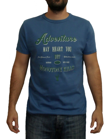 Mangas Cortas - Blueridge Remera Adventure