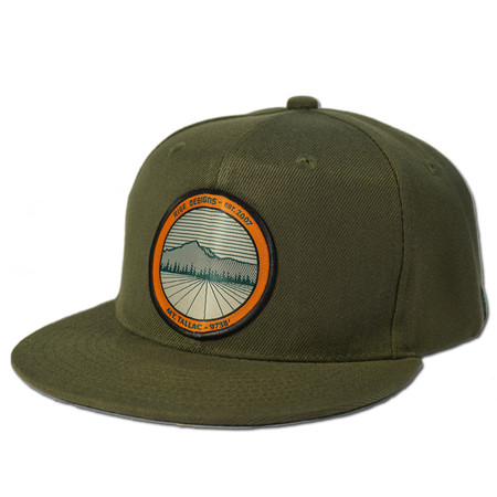 Ball Caps & Snapbacks - Rise Designs Tallac Mountain Snapback Hat