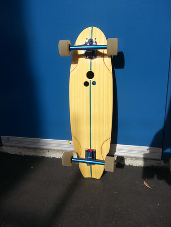 Boards - Holesom Longboards Biscuit - complete