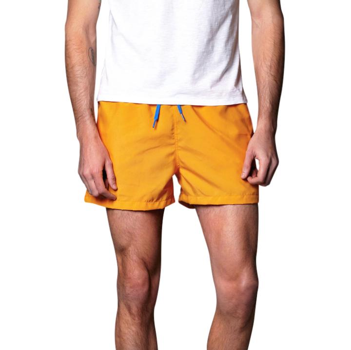 Traje de ba o naranja naranja crouch for Accesorios bano naranja