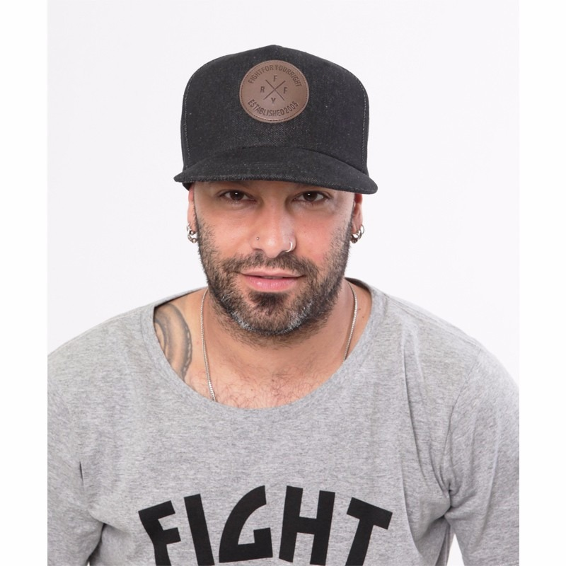 Fight For Your Right Gorra Fight For Your Right Flat Visor Denim Original Garcia