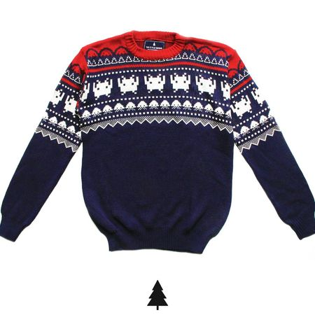 Sweaters - This Is Feliz Navidad Sweater Invader