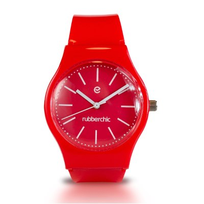 Relojes - Rubberchic Reloj Nice Red