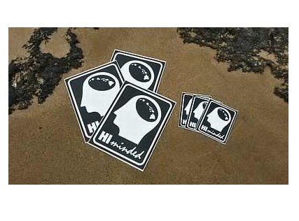 More - Hi Minded Sticker pack