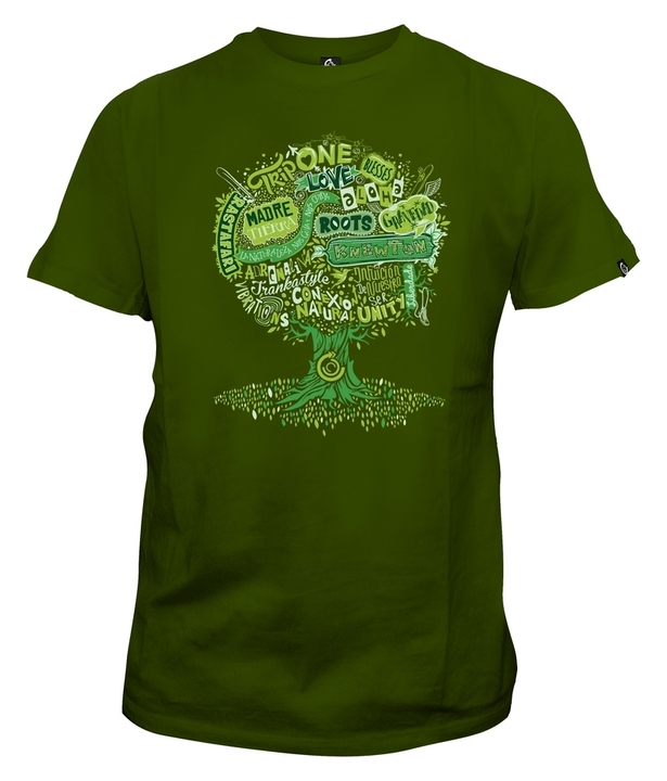 Mangas Cortas - Knewton Remera My Big Tree