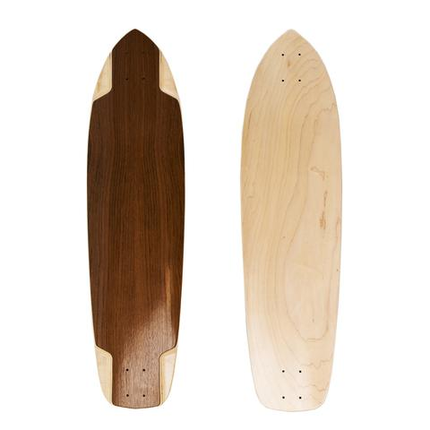 Concrete Coast Teutonia Jatoba Wood Blank Downhill Deck - 37.25