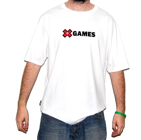 Mangas Cortas - X Games Remera Simple Corp