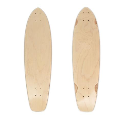 Concrete Coast Broadway Blank Longboard Deck - Board Life Factory