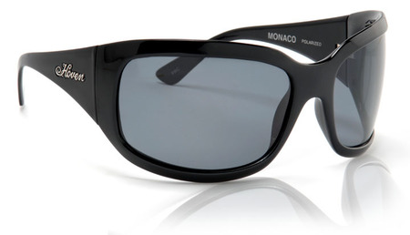 Sunglasses - Hoven Vision Monaco (Black Gloss/Grey Polarized)
