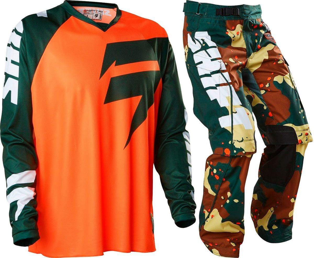Fox Head Equipo Enduro Shift  Recon Camo- Xxl/38- #15767031