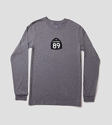 Long Sleeve - California 89 Men's Long Sleeve Bike Tee