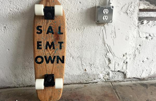 Boards - Salemtown Board Co The Casey (Oak Cruiser)