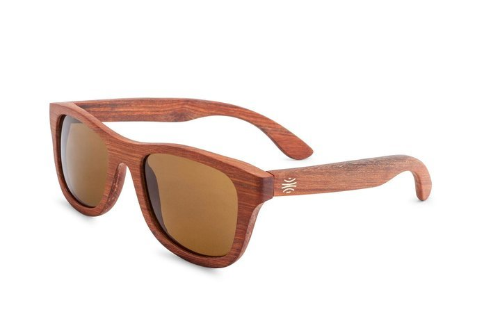 Bosky Optics Boulder Rosewood Sunglasses Polarized Brown Lens