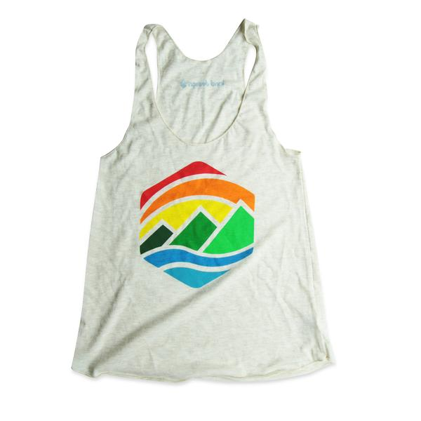 Tanks - Kind Design Retro Mountains Tank