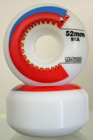 Wheels - Colorado Skateboards Chomper Wheel 99a