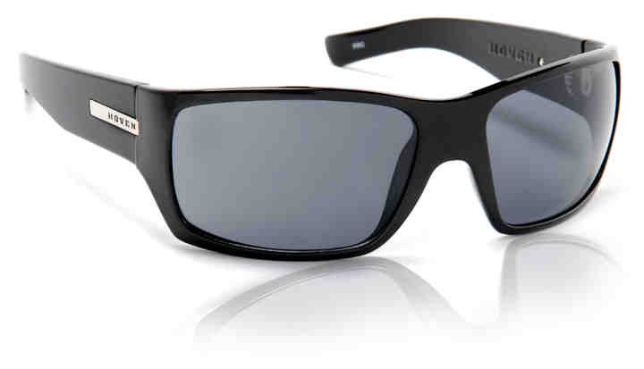Sunglasses - Hoven Vision TIMES Black Gloss / Grey Polarized