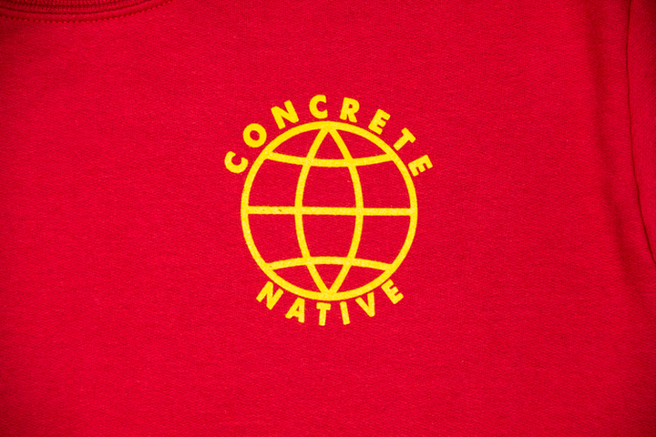 Crew Necks - Concrete Native Beautiful World Crewneck Sweatshirt