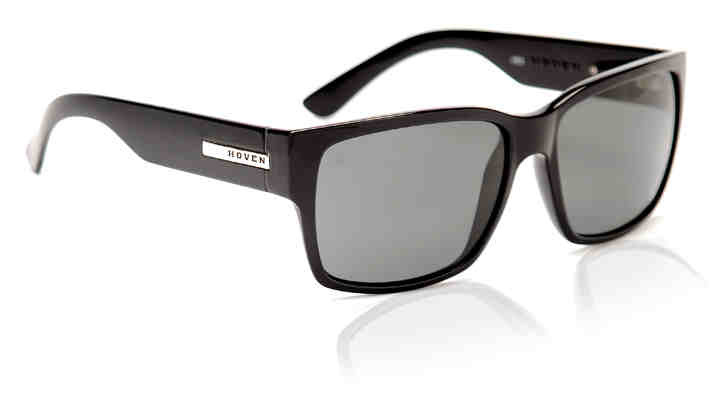 Sunglasses - Hoven Vision MOSTEEZ Black Gloss/Grey Polarized